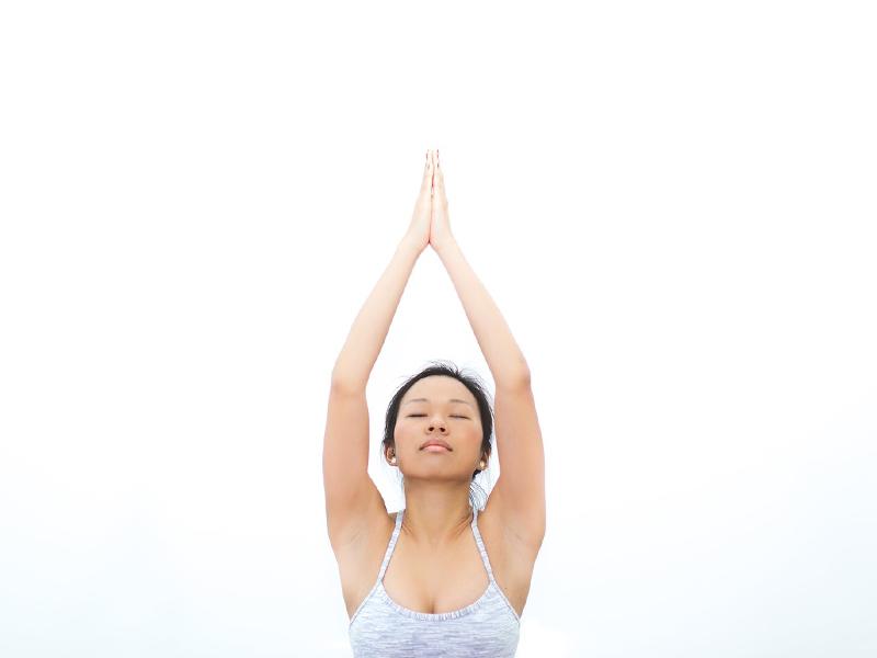First yoga class tips breath