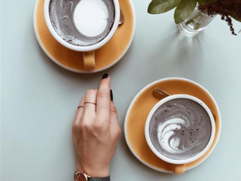 Charcoal Latte Lifestyle