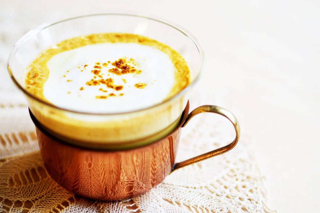 What is turmeric latte