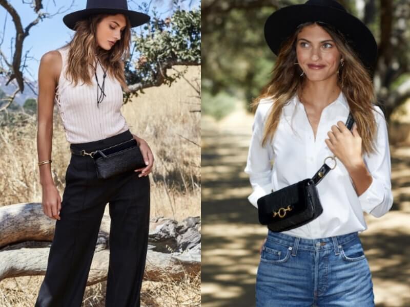 Pineapple leather Belt Bag